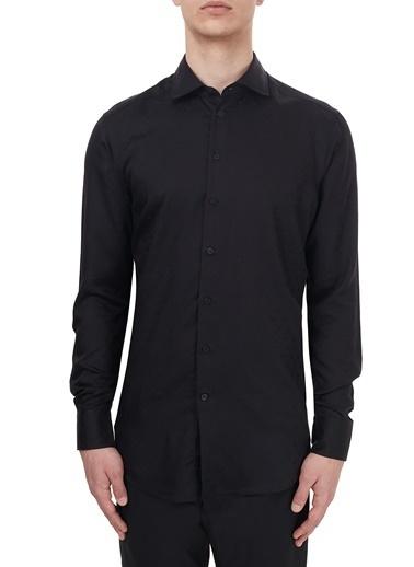 Etro  Slim Fit Uzun Kollu Gömlek Erkek Gömlek 11451 3272 0001 Siyah